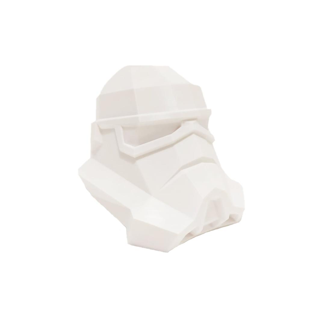 Cabeça Stormtrooper impressão 3d star wars